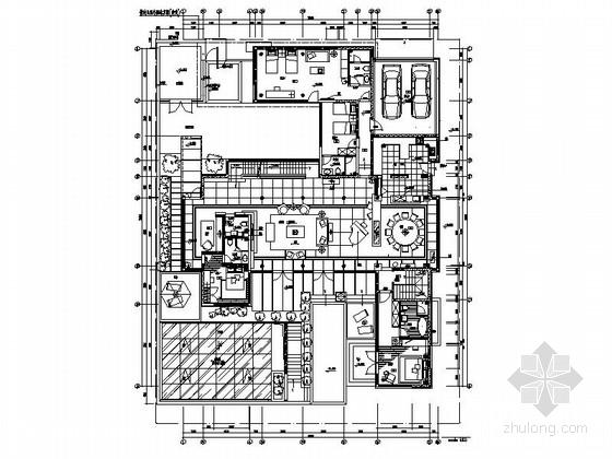 [北京]奢华混搭风双层别墅室内装修图(含实景图)