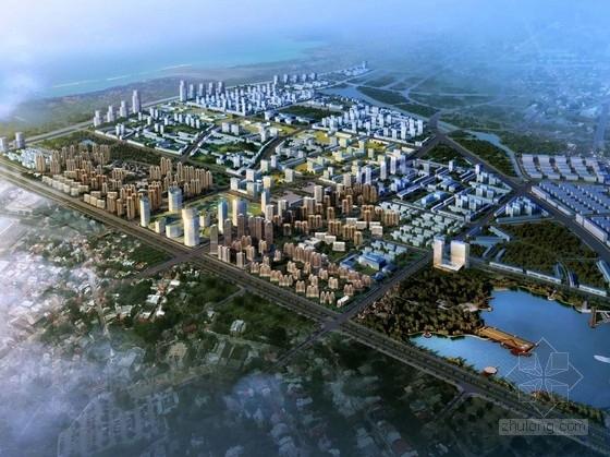 [江苏]滨江城市综合规划及单体设计方案文本