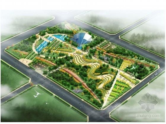 [河南]城市广场景观规划设计方案