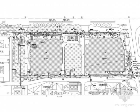 [上海]3.6万平综合商业区超市及卖场给排水消防施工图