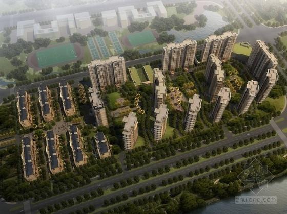 [福建]高尚典雅滨水住宅区规划设计方案文本