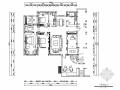 [河北]高档现代轻中式风格别墅室内装修施工图(含效果图)