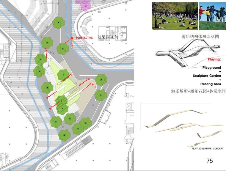 [江苏]时代广场景观概念设计文本(PPT+89页)