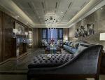 西安振业地产新古典风样板房设计实景图