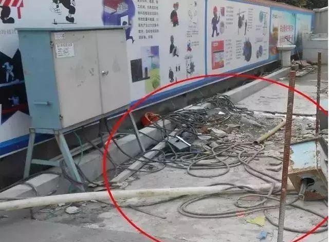 建筑施工现场临时用电安全隐患,全都是错误做法!_5