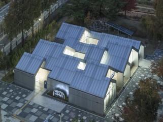 韩国Hannae智慧森林建筑