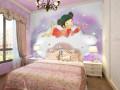 儿童房背景墙装修风格介绍
