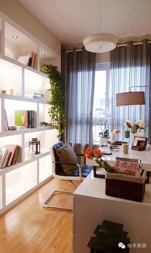 25款书房装修效果图大全