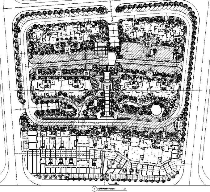 [湖南]滨河雨水花园生态居住公寓景观设计全套施工图(园建+植物+水电+标识+结构)
