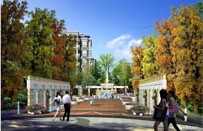 [四川]博雅新城全套景观设计方案文本(美国ESD国际顾问)