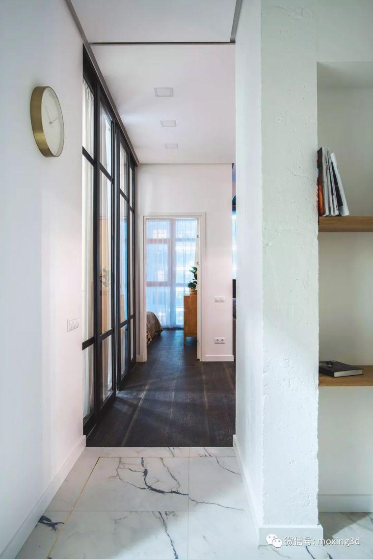 色彩灵动的北欧简约公寓,无可挑剔的美_11