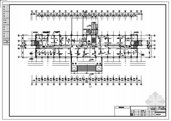 海关办公楼及附属用房空调通风图