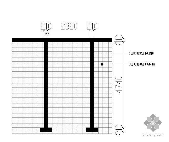 标准小料石停车场施工图