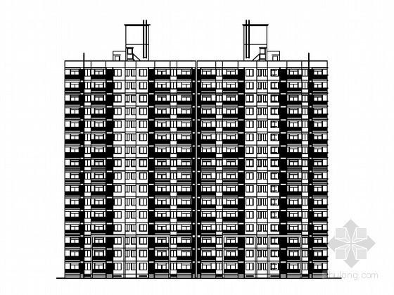 [上海周浦]某地块住宅楼及配套设施建筑施工图