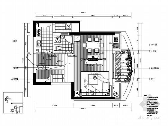 优雅复式家居装修图