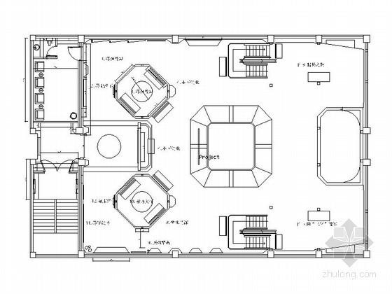 [浙江]某海军军史馆室内设计图