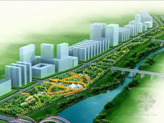 [内蒙古]综合性滨河公园景观设计方案