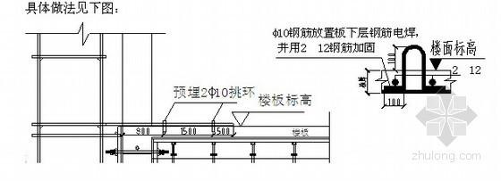 [内蒙古]电厂双排落地、悬挑脚手架施工方案
