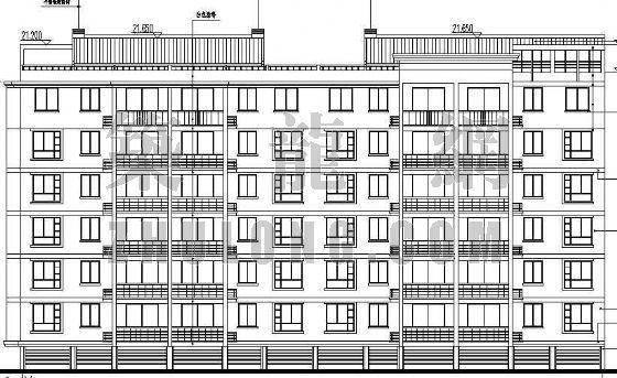 某小区住宅楼建筑施工图(3)