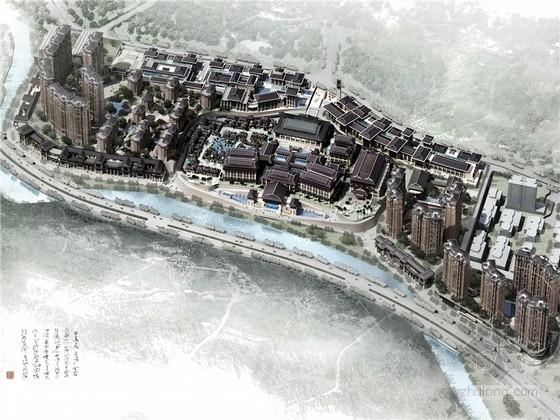 [贵州]新中式国际温泉片区规划设计方案文本(含动画 知名设计院)