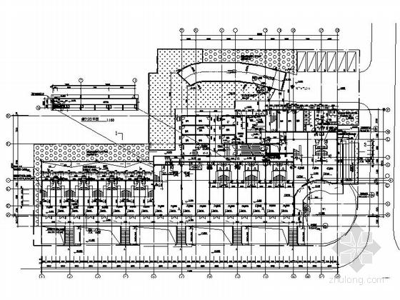 现代风格多层住宅区规划设计平面图