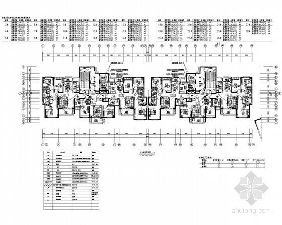 [安徽]二十八层商住小区强弱电设计图纸(最新规范)