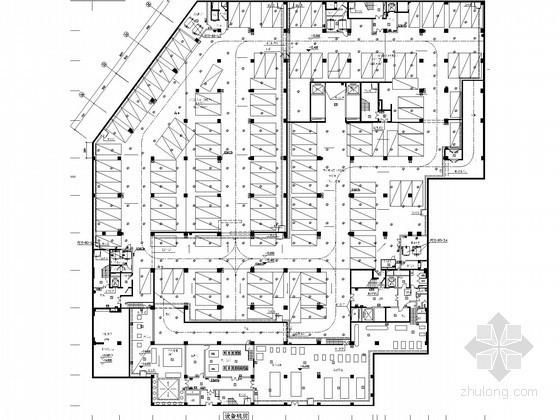 [河南]三级甲等医院门诊楼强弱电初步设计图66张