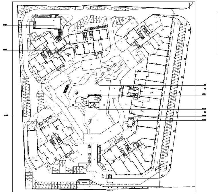 [广东]中山海怡湾全套居住区园建施工图设计(2017年最新资料)