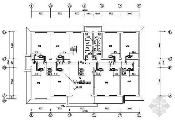 某两层办公楼空调设计图