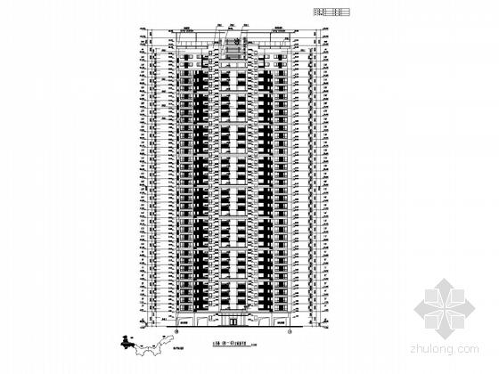 住宅楼立面图