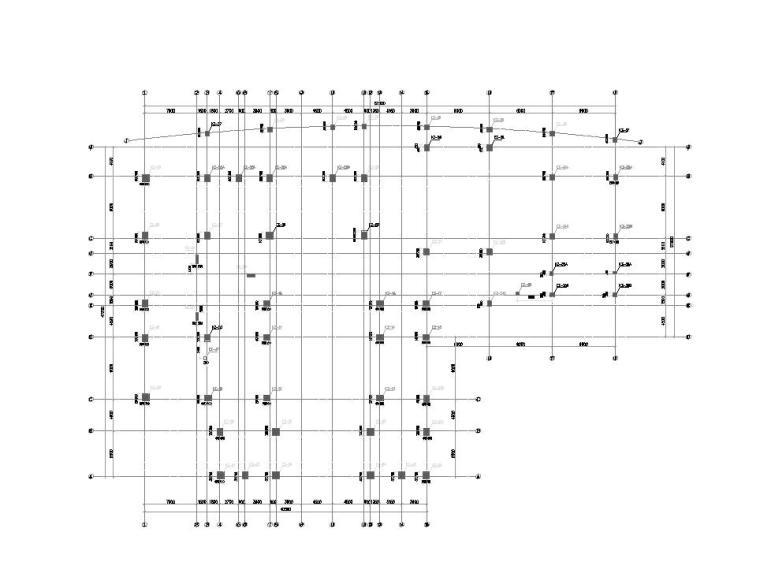 [江西]瑞金宾馆结构施工图设计(钢筋混凝土结构)