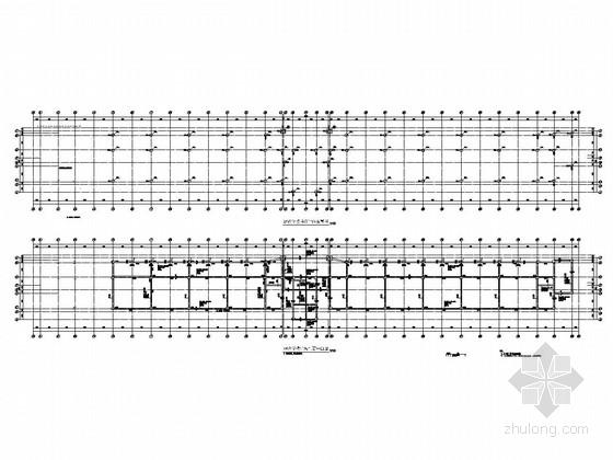 [重庆]五层框架结构城北中学教学楼结构施工图