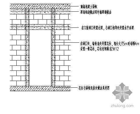 大孔轻集料空心砌块的工程应用