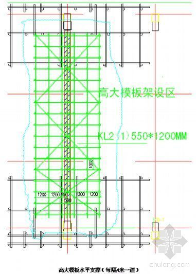 苏州某厂房15.500米高大梁模板专项施工方案