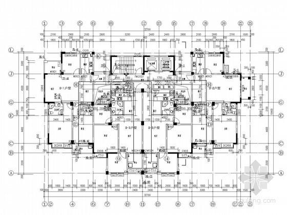 [安徽]十七层住宅楼给排水施工图(压力排水)