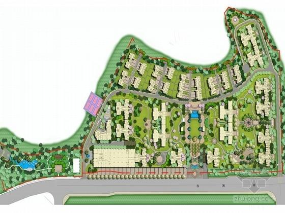 [湖南]首席高尚时代豪华居住区景观规划方案