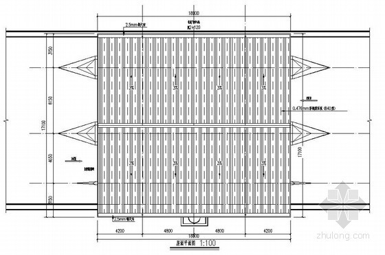 某收费站结构施工图