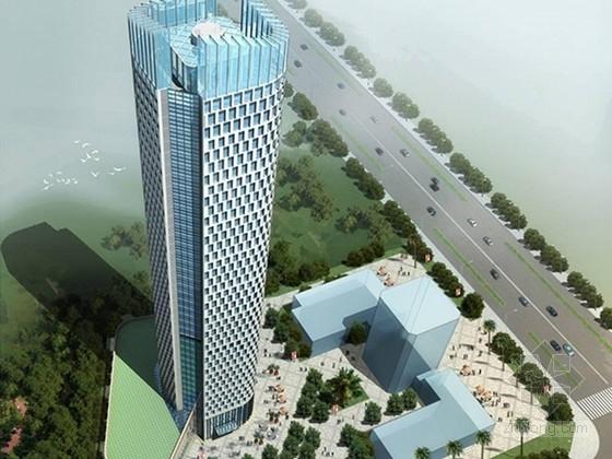 [江苏]45层中部大跨度框筒结构办公大厦结构图(含建施 楼顶停机坪 500张图)