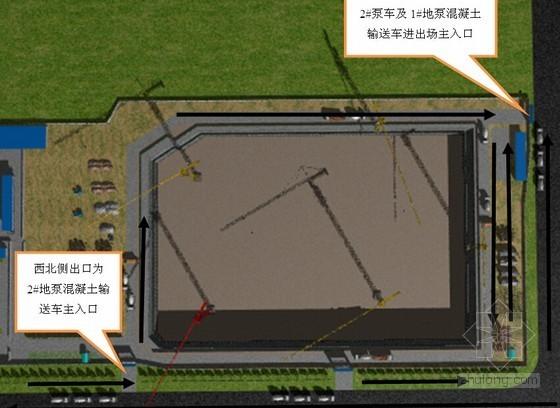 [江苏]文化服务中心工程主体混凝土施工方案(附图)
