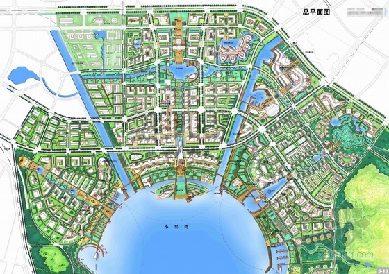 [大连]滨海城市商业中心区概念设计规划方案