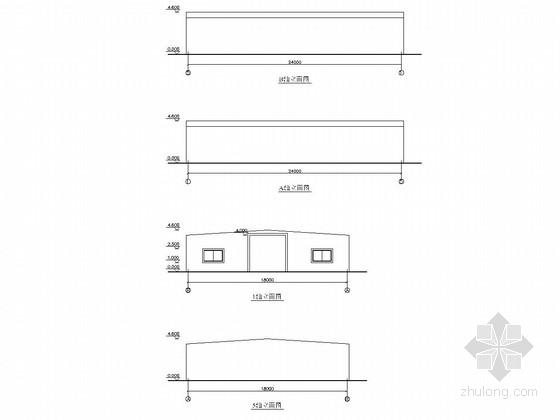 轻钢结构厂房结构施工图