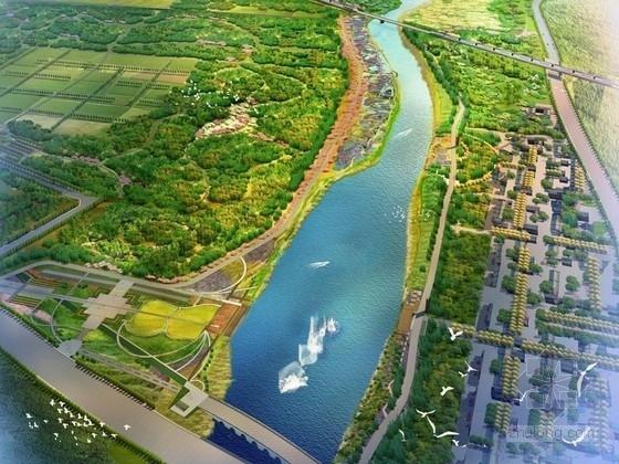 [北京]生态湿地公园景观设计方案