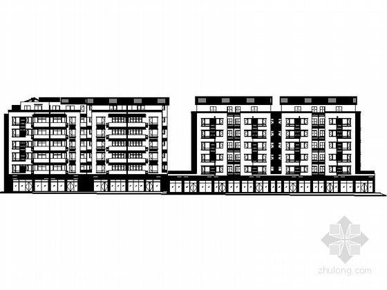 [四川]某县七层沿街商住楼建筑施工图