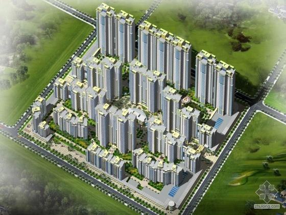 [郑州]某天下城住宅小区方案文本