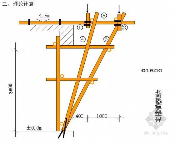 [北京]住宅工程脚手架施工方案(计算书)