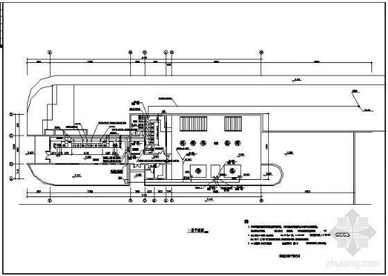 某污水厂泵站自动控制原理图