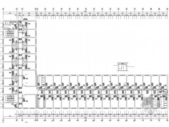 多层行政办公楼空调通风系统设计施工图