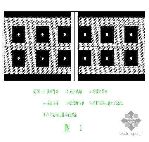 吉林某步行街地下人防工程施工组织设计(逆作法)