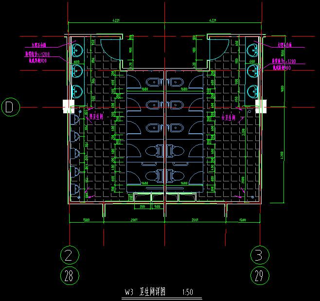 50套商业、酒店、办公楼建筑方案施工效果图纸_8