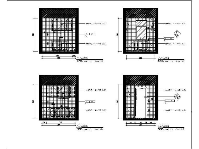 [青岛]法式浪漫精品三居室装修设计施工图(含实景图)_5